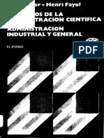 120456519 Principios de La Administracion Cientifica Administracion Industrial y General
