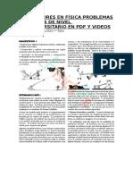 LOS VECTORES EN FÍSICA PROBLEMAS RESUELTOS DE NIVEL PREUNIVERSITARIO EN PDF Y VIDEOS.docx