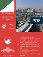 Cuenta Pública 2015 HUAP