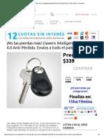 ¡No las pierdas más! Llavero Inteligente Bluetooth 4.0 Anti Pérdida. Envíos a todo el país.pdf