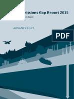 UNEP Emission Gap Report 2015