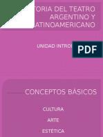 Periodización de la historia del Teatro Argentino