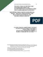 Revista ATO-Odontologia Pacientes Necessidades-2005