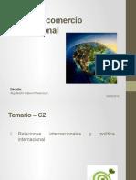 Política y Comercio Internacional
