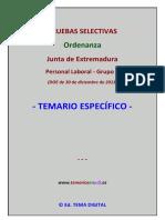 Muestra Temario Especifico Ordenanza JuntaEx