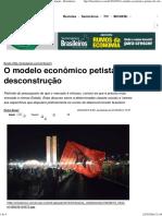 O Modelo Econômico Petista_ Da Virtude à Desconstrução - Brasileiros