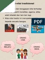 K8 GPM Nilai Masyarakat Malaysia
