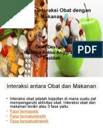 Pengaruh Interaksi Obat Dengan Kebutuhan Gizi