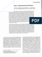Personalidad y Comportamiento Penitenciario - Rodríguez Fornells, A