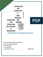 DERECHOS DE LOS USUARIOS DE LA BANCA SINTESIS DE LECTURA.docx