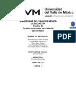 Practica II. Azucares