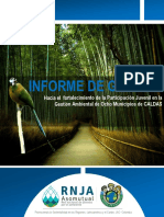 Informe Gestión  Red Caldas. Contrato Corpocaldas_164 2015