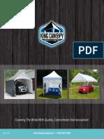2015 King Canopy Product Catalog