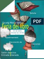 Afiche Día Del Libro