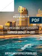 Americans for Prosperity FY 2017 Taxpayers' Budget