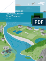 Embargoed Report Climate Change Implications for NewZealand