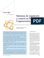 Sistemas de Regulacion y Control en Plantas de Cogeneracion