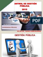 Ayudas Visuales Control de Gestión Pública 2015