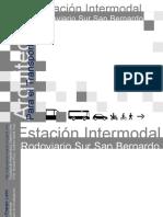 Estacion Intermodal San Bernardo Memoria Final