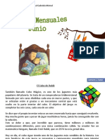 Junio Cualecturas mensualesrto Lectura Mensual