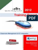 timeleni ps training report