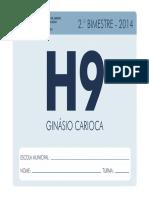 Cadernos Pedagógicos História- 9º Ano- Prefeitura RJ