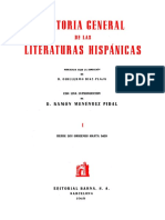"""Ramón Menéndez Pidal (1949) """"Caracteres primordiales de la literatura española..."""""""