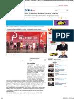 12-04-16 Presentan Festival Del Pitic 2016, 'Hermosillo Con Su Gente' - Hermosillo