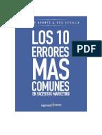 Los10ErroresmasComunesqueseComentenenFacebookMarketing