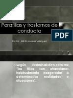 Parafilias y patrones de conducta ll
