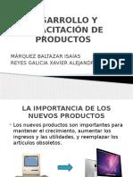 Desarrollo y Capacitación de Productos