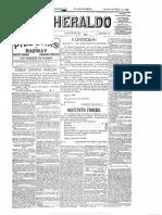 El Heraldo 9 de Febrero de 1899