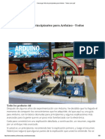 Descargar Guía de Principiantes Para Arduino - Todos Como PDF