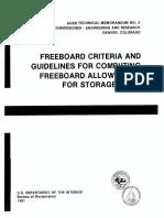 Freeboad Criteria - ACER