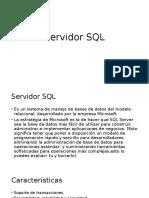 Servidor SQL