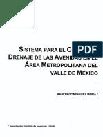 Sistema Drenaje Avenidas VM_IIUNAM