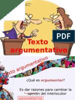 Discurso Argumentativo 4to