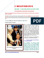 Kenneth Copeland ` i Am God Jesus is Not God