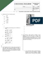 Teste de Matematica 7 Ano