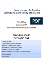 Learner Centered Learning