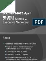 De Perio Santos