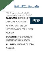 El Ascenso Del Estado Peruano y La