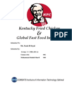 KFC & Global Fast Food Industry 2010