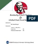 KFC & Global Fast Food Industry 2010