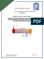 Diseño Termodinamico Ac.lubricante- Kerosene