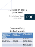 3. Hidratacion Oral y Parenteral