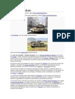 Tanques. Acorazadoas de Guerra