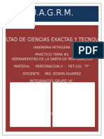Htas. de La Sarta de Perforacion - PET201