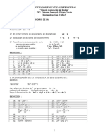Inecuaciones Cuadraticas - Matematicas 11