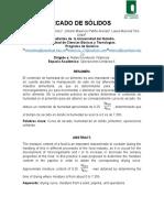 Informe 1 Curva de Secado - Pimentón Rojo